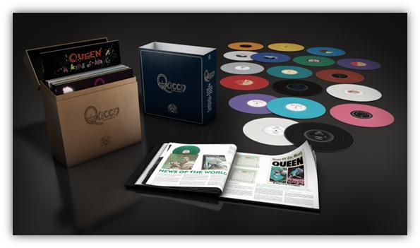 Inside the Queen Box Set
