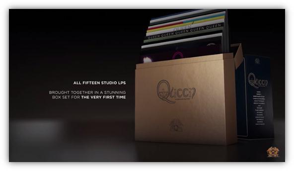 Queen boxset
