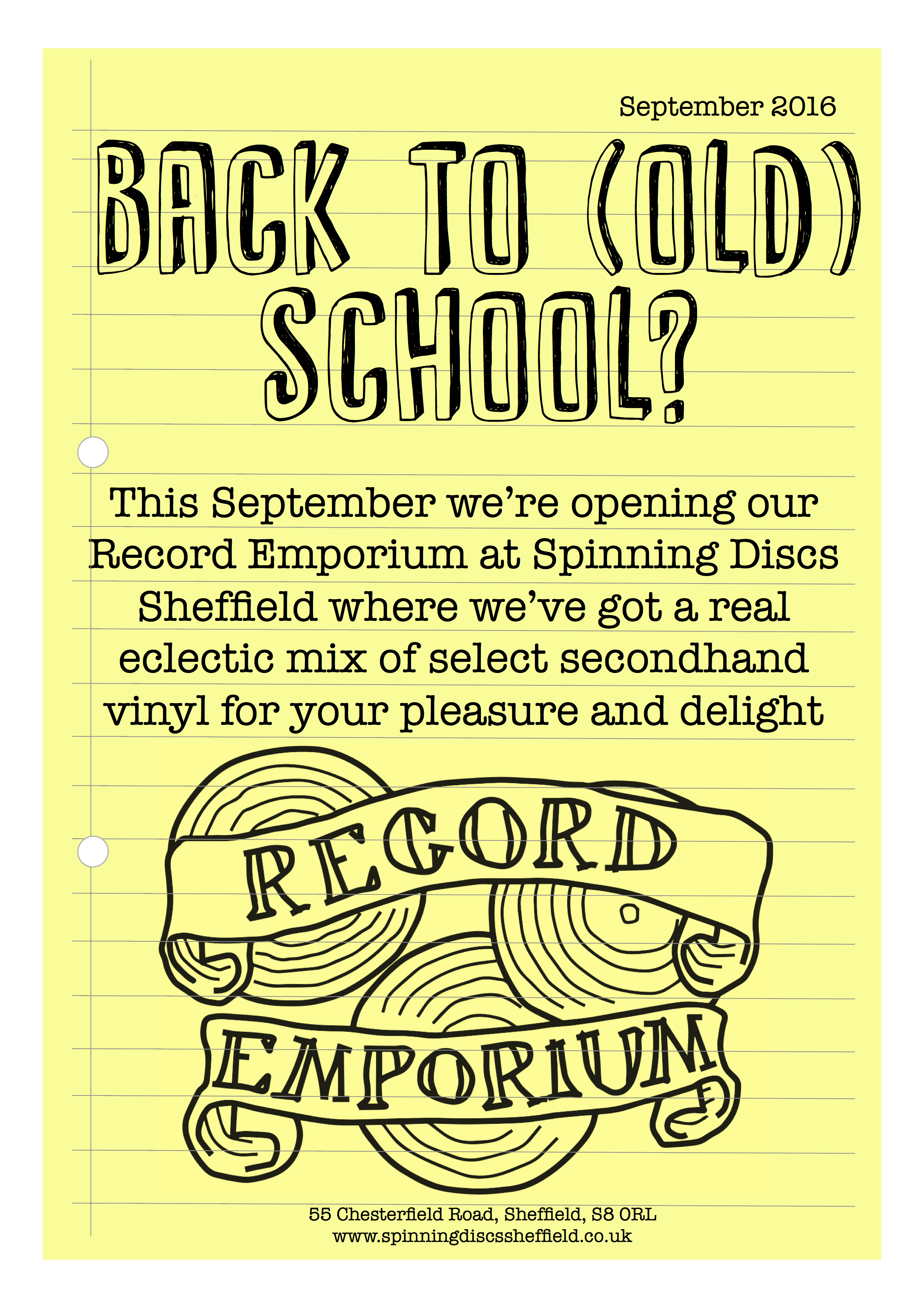 Record Emporium - Back to (Old) School?
