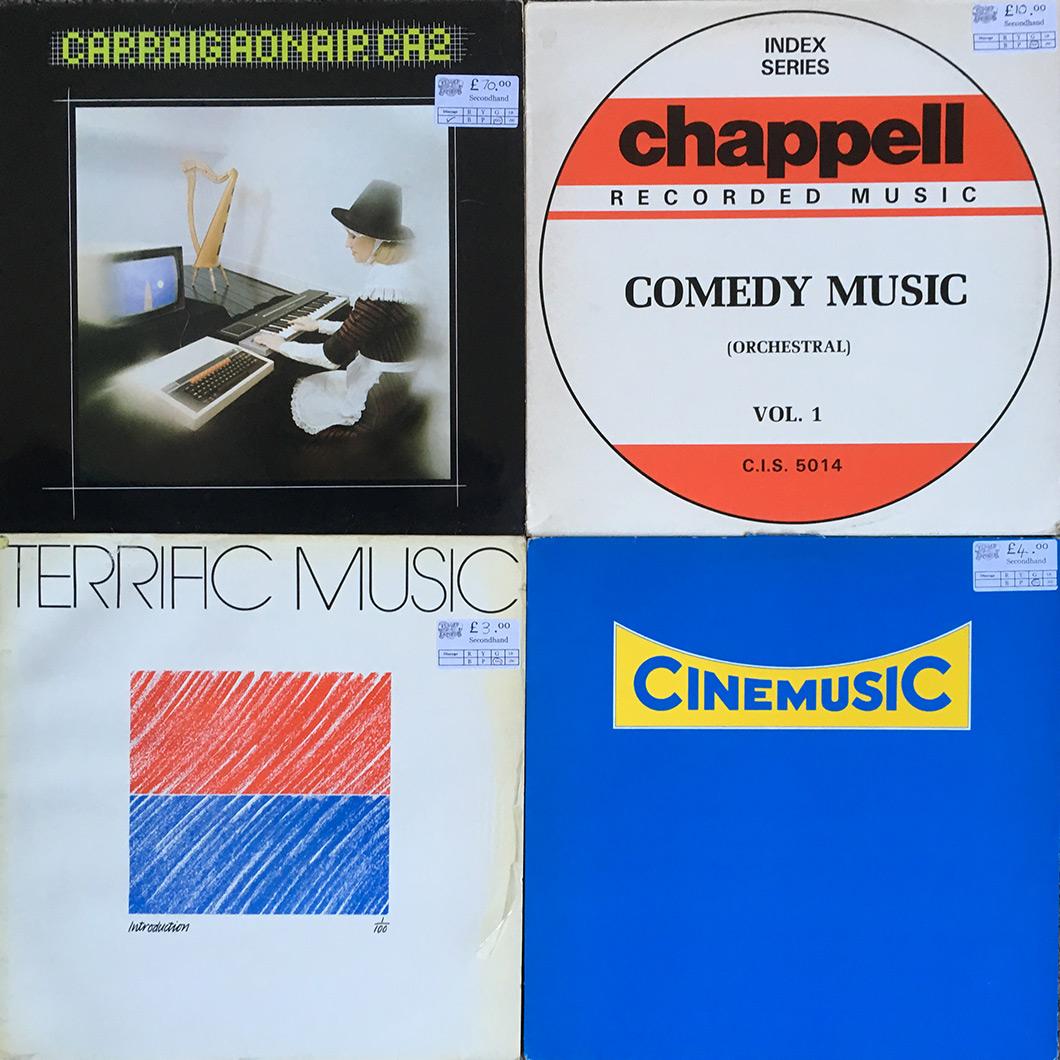 library music vinyl
